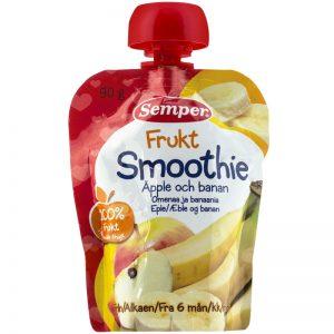 Barnmat Smoothie Frukt Äpple & Banan 90g - 5% rabatt