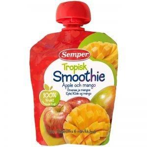 Barnmat Tropisk Smoothie Äpple & Mango 90g - 5% rabatt