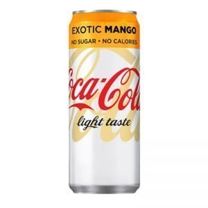Coca-Cola Light Exotic Mango 33cl - 21% rabatt