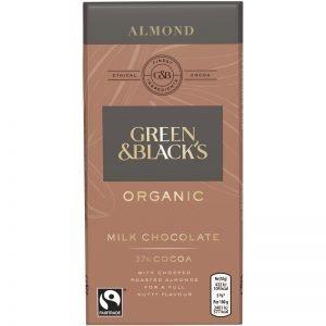 Eko Mjölkchoklad Mandlar 90g - 67% rabatt