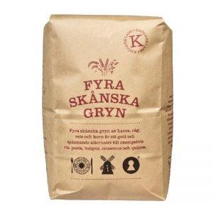Fyra Skånska Gryn 2kg - 58% rabatt