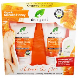 "Hand-& Fotkrämskit ""Manuka Honey"" 250ml - 35% rabatt"