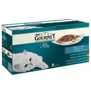 "Hel Låda Kattmat ""Gourmet"" 60 x 85g - 26% rabatt"