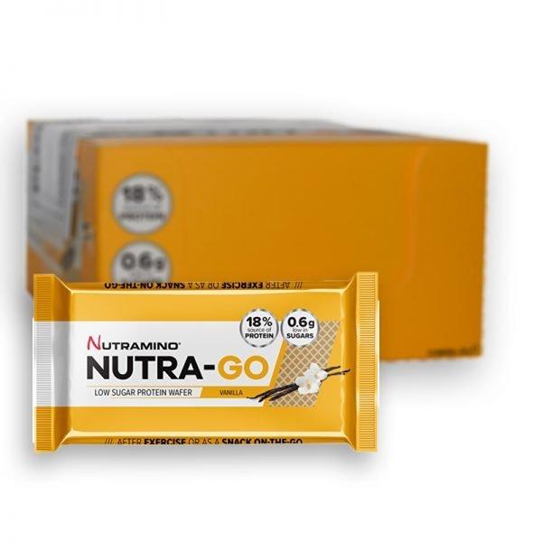 Hel Låda Proteinwafers Vanilj 12-pack - 60% rabatt