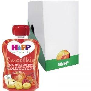 Hel Låda Smoothie Äpple Banan & Jordgubb 6 x 90g - 27% rabatt