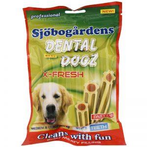 """Hundgodis """"Dental Dogz"""" 6 x 27g - 57% rabatt"""