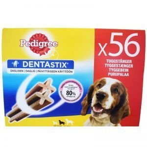 "Hundgodis ""Dentastix Medium"" 1440g - 27% rabatt"