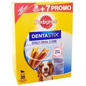 "Hundgodis ""Dentastix Triple Action"" 900g - 34% rabatt"