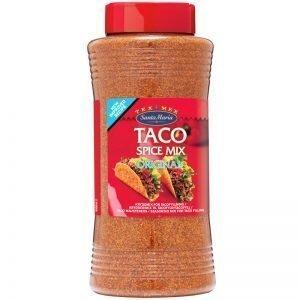 """Kryddblandning """"Taco Spice Mix"""" 560g - 25% rabatt"""