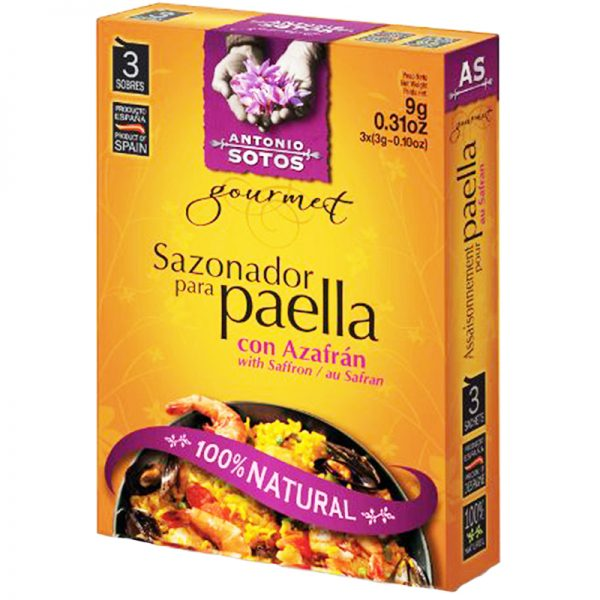 Kryddmix Paella 9g - 34% rabatt