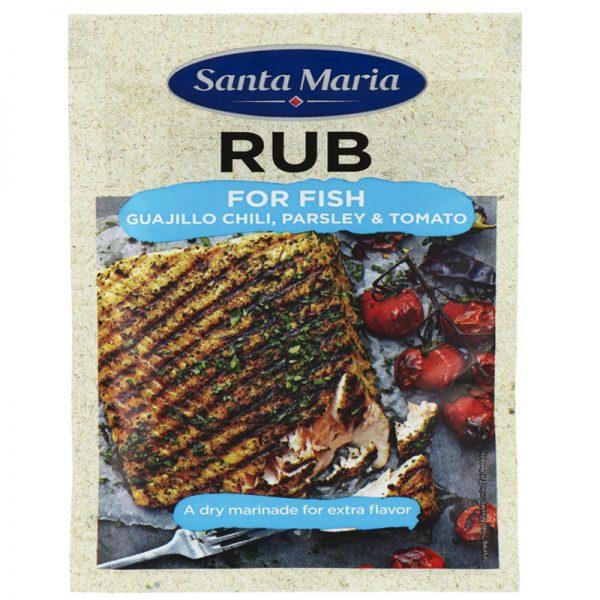 """Kryddmix Rub """"Fish"""" 22g - 10% rabatt"""