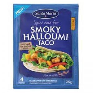 """Kryddmix """"Smoky Halloumi Taco"""" 25g - 20% rabatt"""