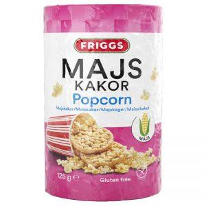 Majskakor Popcorn 125g - 27% rabatt