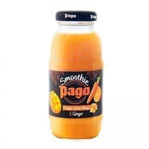 Smoothie Apelsin, Morot, Mango & Ingefära 200ml - 50% rabatt