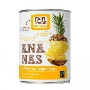 Ananasskivor 560g - 33% rabatt