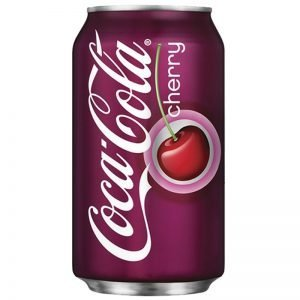 "Coca-Cola ""Cherry"" 355ml - 22% rabatt"