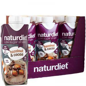 Hel Låda Måltidsersättning Shake Hazelnut & Cocoa 12-pack - 42% rabatt