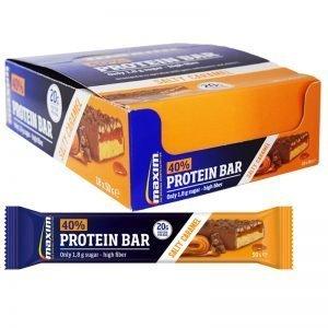 "Hel Låda Proteinbars ""Salty & Caramel"" 18 x 50g - 31% rabatt"