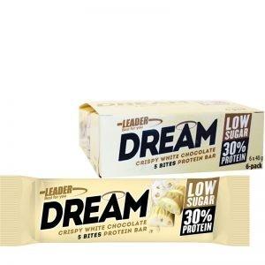 """Hel Låda Proteinbars """"White Chocolate"""" 6 x 40g - 20% rabatt"""