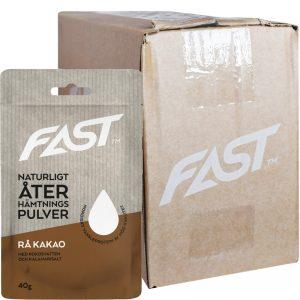Hel Låda Proteinpulver Rå Kakao 20 x 40g - 86% rabatt