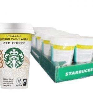 Hel Låda Starbucks Iskaffe Mandel 10-pack - 50% rabatt