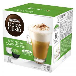 "Kaffekapslar ""Soja Cappuccino"" 16-pack - 44% rabatt"