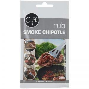 """Kryddblandning """"Rub Smoke Chipotle"""" 35g - 36% rabatt"""