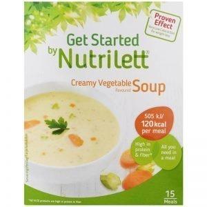 """Måltidsersättning """"Creamy Vegetable Soup"""" 15 x 33g - 38% rabatt"""