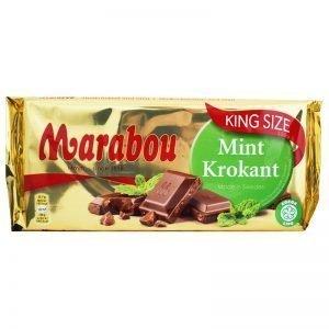 """Mjölkchoklad """"Mint"""" 250g - 32% rabatt"""