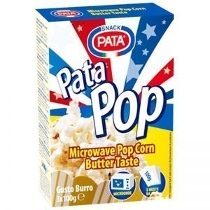 """Popcorn """"Butter"""" 3 x 100g - 33% rabatt"""