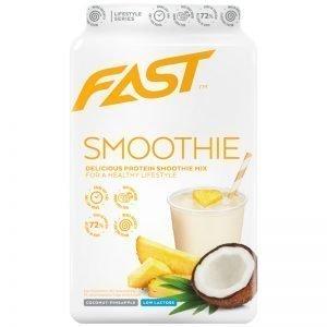 "Proteinpulver ""Smoothie Mix"" Kokos & Ananas 500g - 79% rabatt"