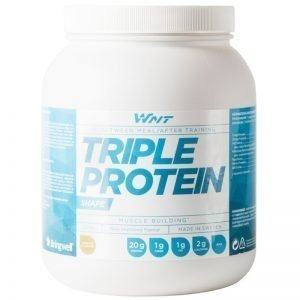 "Proteinpulver ""Triple Protein"" Vanilj 1kg - 33% rabatt"