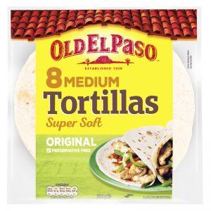 """Tortillabröd """"Super Soft"""" 326g - 22% rabatt"""