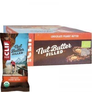 Energibar Choklad & Jordnötssmör 12-pack - 41% rabatt