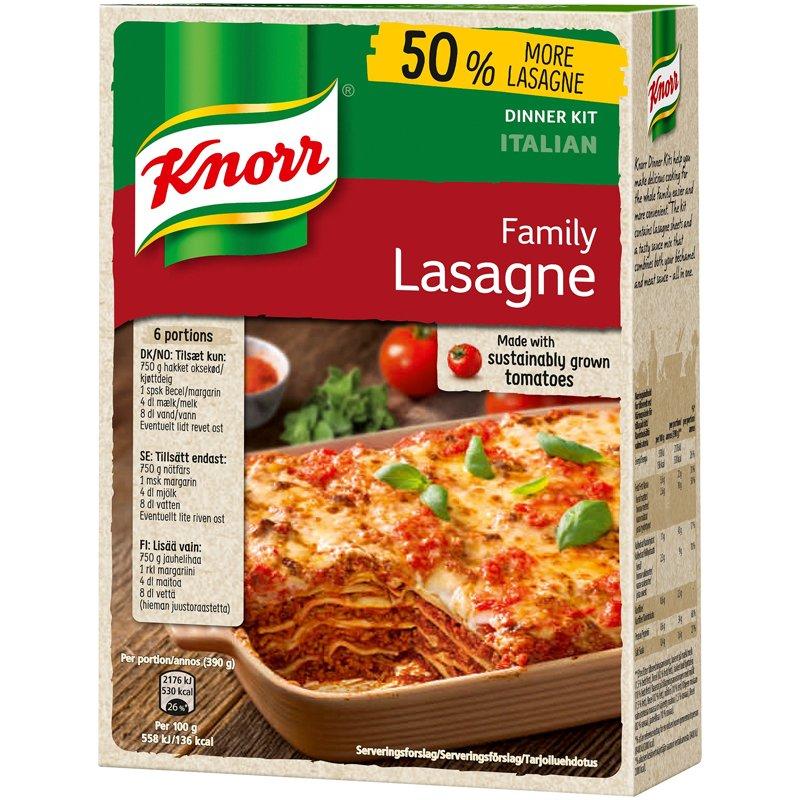 lasagne med ostbågar recept