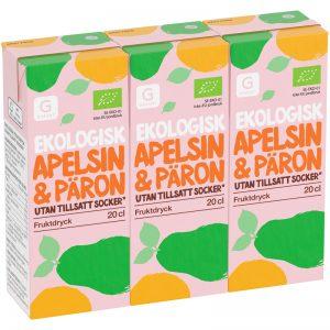 Fruktdryck Apelsin & Päron 3-pack - 31% rabatt