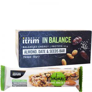 "Hel Låda Proteinbars ""In Balance"" 12 x 50g - 78% rabatt"