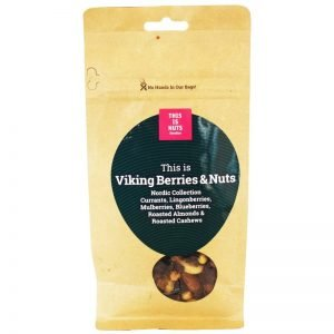 "Nötmix ""Viking Berries & Nuts"" 250g - 77% rabatt"