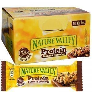 Proteinbars Peanut & Chocolate 12-pack - 47% rabatt