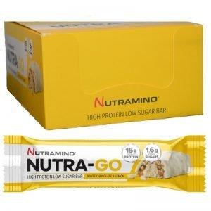 Proteinbars Vit Choklad & Citron 15-pack - 80% rabatt