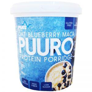 Proteingröt Havre, Blåbär & Maca - 24% rabatt