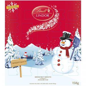 Adventskalender Lindor - 88% rabatt