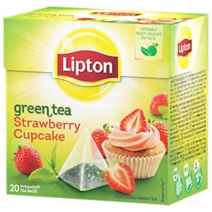 Grönt Te Strawberry Cupcake - 21% rabatt