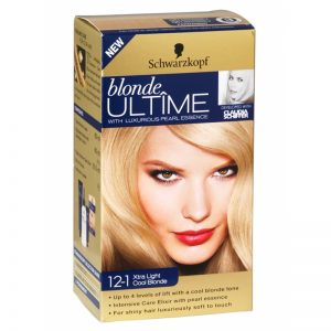"Hårfärg Blondering ""12-1 Xtra Light Cool Blonde"" - 51% rabatt"
