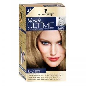 """Hårfärg Blondering """"8-0 Medium Blonde"""" - 51% rabatt"""