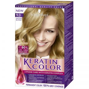 "Hårfärg ""Keratin Color 9.0 Natural Blonde"" - 38% rabatt"
