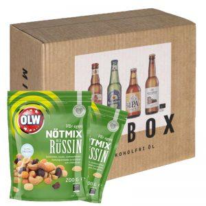 Nötmix & alkoholfri-öl paket - 25% rabatt