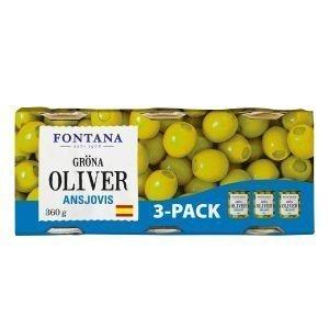 Oliver Ansjovis 3-pack - 32% rabatt