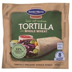 Tortillabrød Fuldkorn - 22% rabatt