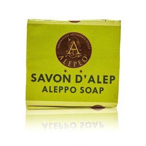 Äkta Aleppo tvål 4% lagerolja 200g
